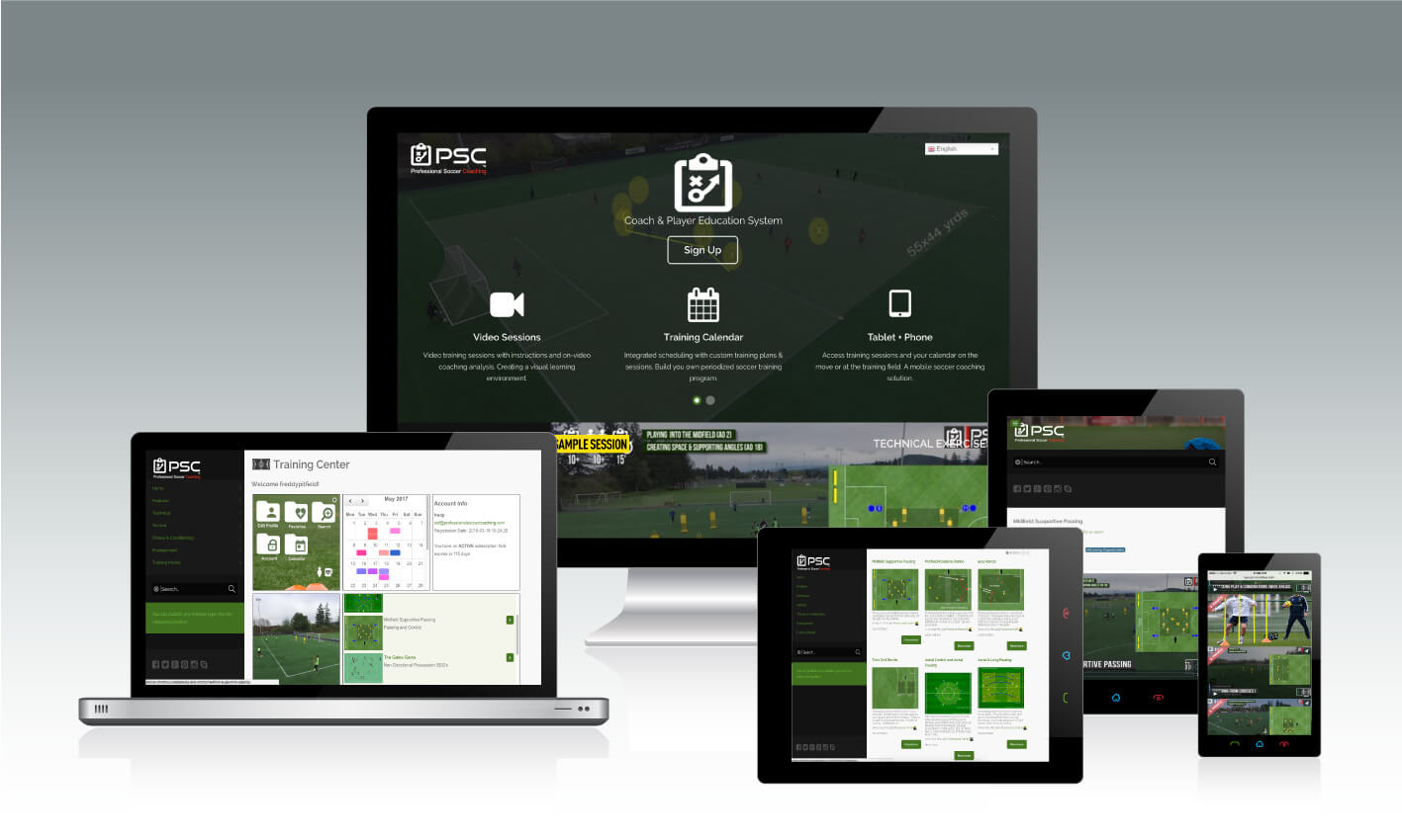 Football Training From Your Mobile Devices